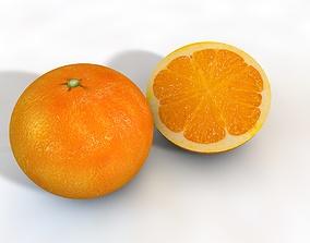 3D model Clementine Fruit