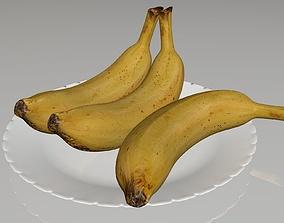 3D model game-ready sweet Banana