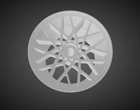 3D printable model Rotiform BLQ rims for Hot Wheels