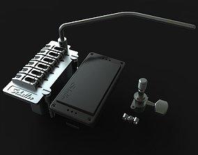 guitar hardware 3D