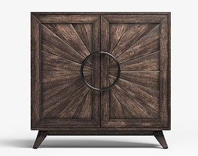 3D model Kohana two Door Cabinet