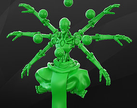 Zenyatta - Overwatch 3D printable model