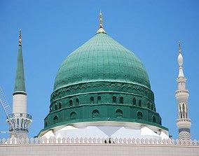 3D printable model Green Dome of Madinah