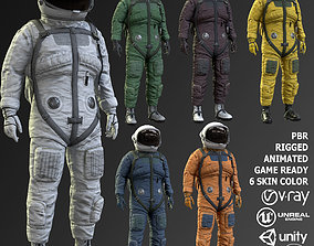 CS01 Space Suit 3D model