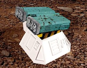Missile add-on for Outpost 3D print model