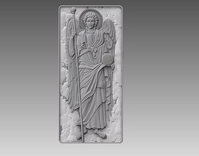 3D printable model Archangel Gabriel angel cnc ORTHODOX 1
