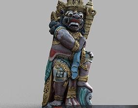 Bali-statue-014 3D asset