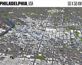 Philadelphia 3D model
