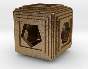 luck 3D print model Dice