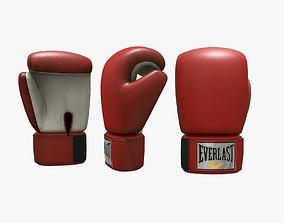 3D model realtime Boxing Gloves