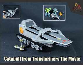 Catapult from Transformers The Movie 3D print model