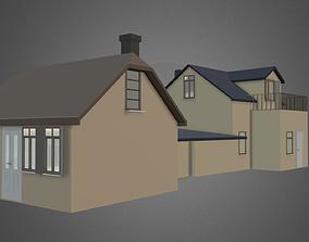 Summer houses 3D