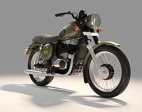 Jawa Forty two Bike 3D model