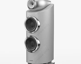 Bowers and Wilkins 800 D3 Satin White 3D