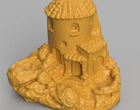 3D printable model Maison et pierre