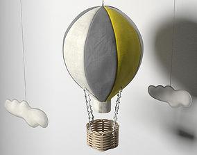 kindergarten Hot Air Balloon 3D model