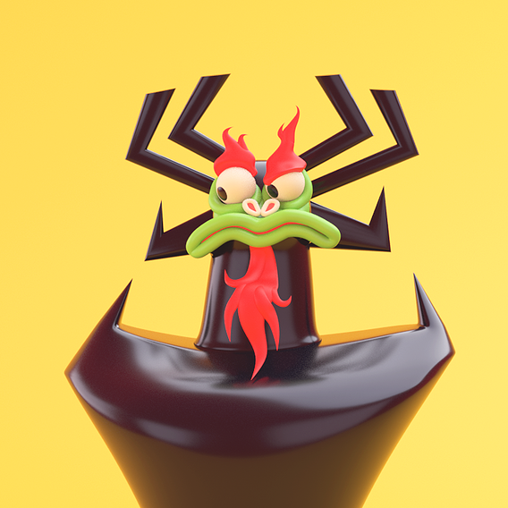 Aku The Great Evil from Samurai Jack