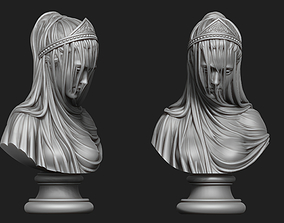3D print model Drapery Bust