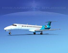 Embraer ERJ-140 Corporate 2 3D model