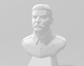 3D printable model Joseph Stalin bust