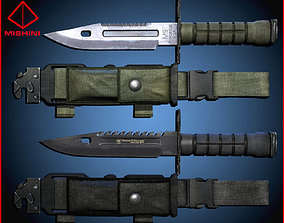 M9 Bayonet Knife Pack 3D