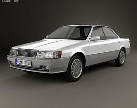 3D Lexus ES 1989