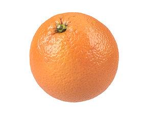 Photorealistic Orange 3D Scan 2