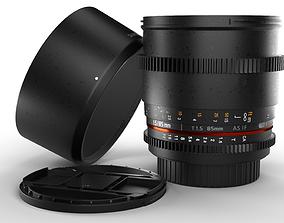 Samyang Cine 85mm for Canon EOS 3D model