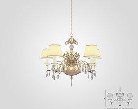 3D model Masiero 6020 S5 chandelier