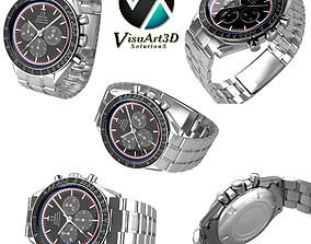 timepiece Omega Speedmaster 3D model