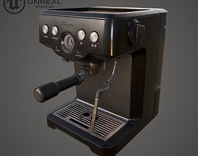 Coffe machine 3D model