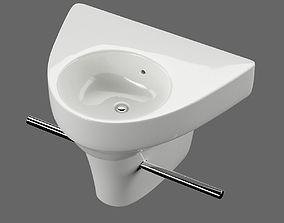 3D model Washbasin Duravit Starck 2 art 071450