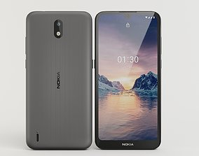 Nokia black 3D