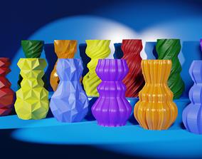 Vase models - 12 pieces