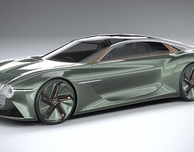 Bentley EXP 100 GT Concept 2019 3D model