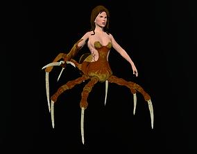 3D asset Th Spider Queen