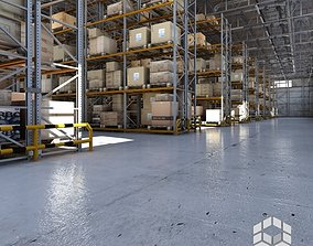 Warehouse interior 2 3D
