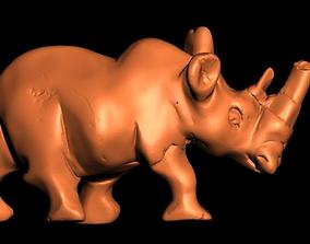 Rhino walking 3D print model