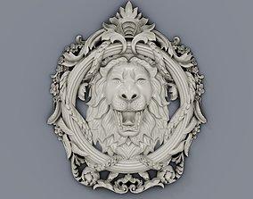 Classic baroque cartouches element 018 3D print model