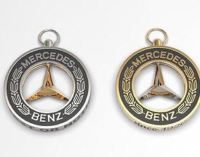 Mercedes-Benz keychain 3D printable model