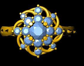 jewels Ring 18K 3D print model
