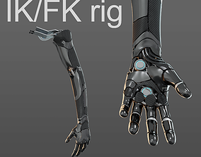 Robotic hand anatomy 3D