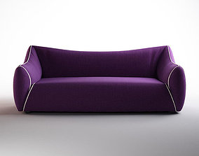 puffy sofa 3D model