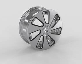 Alloy wheel design 3d model