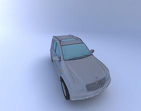 3D model Mercedes Benz ML430 2001