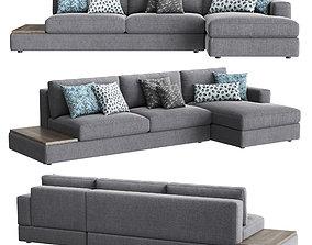 Confort Line ABACO Chaise Sofa 3D asset