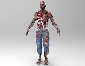 The Zombie 3D asset