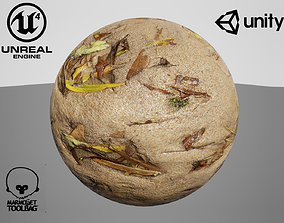 3D model Tiled Sand material Unreal and Unity