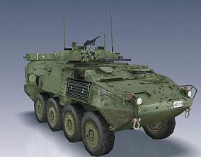 LAV III Light Armoured Vehicle 3D asset
