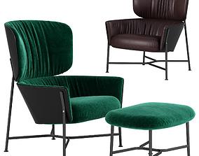 SP01 Caristo armchair 3D model